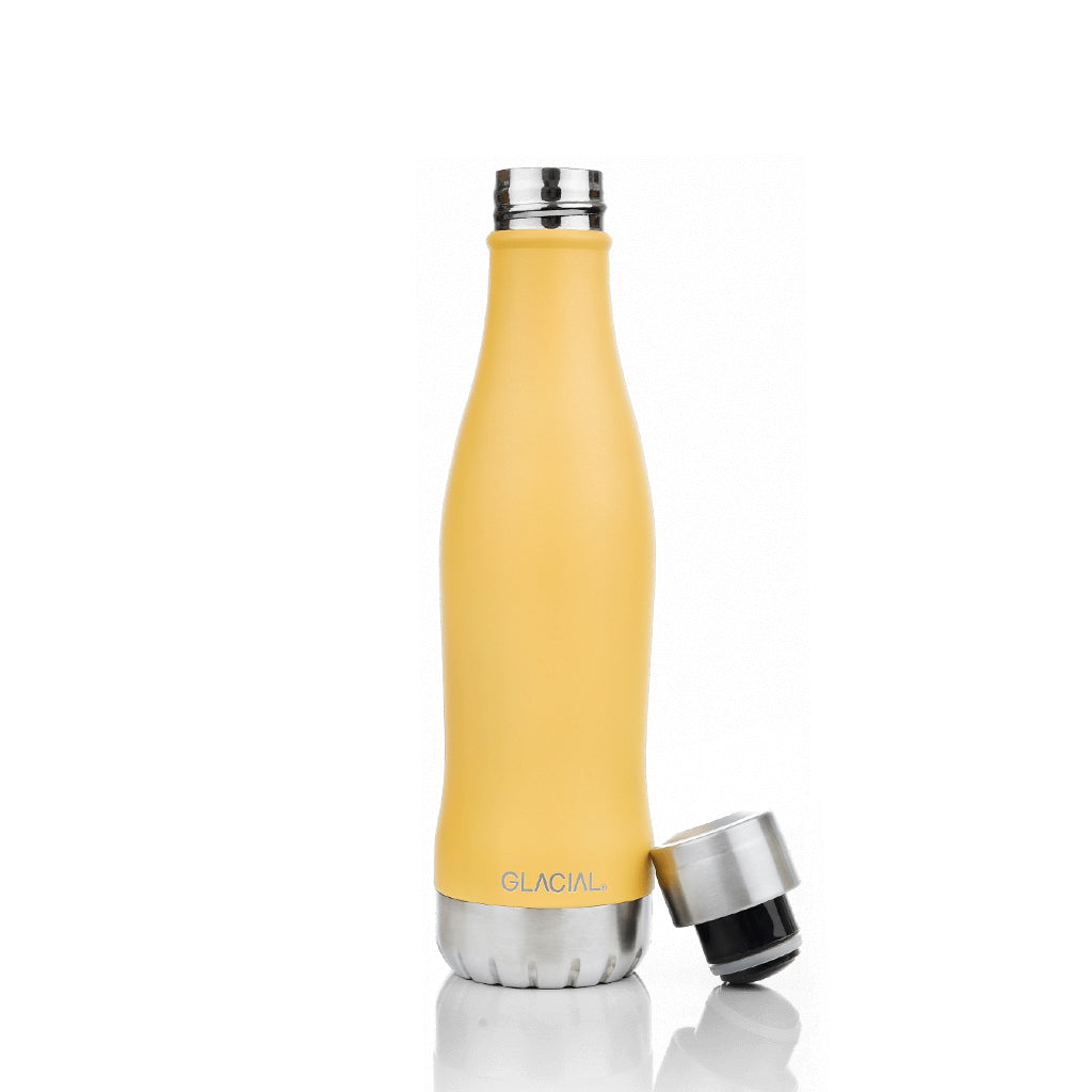 Termospullo - Matte Yellow 400ml