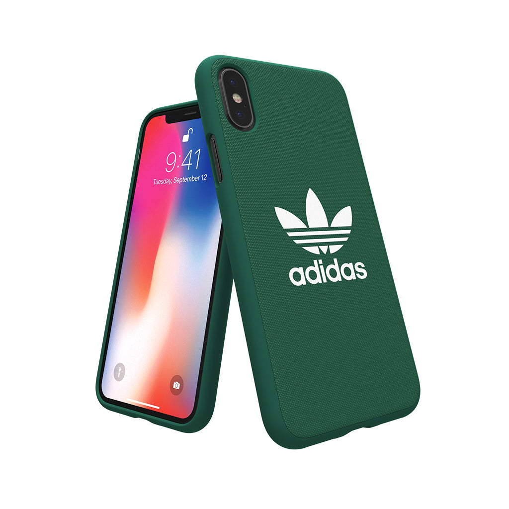 ADICOLOR SS18 Phone Case, iPhone X - Green