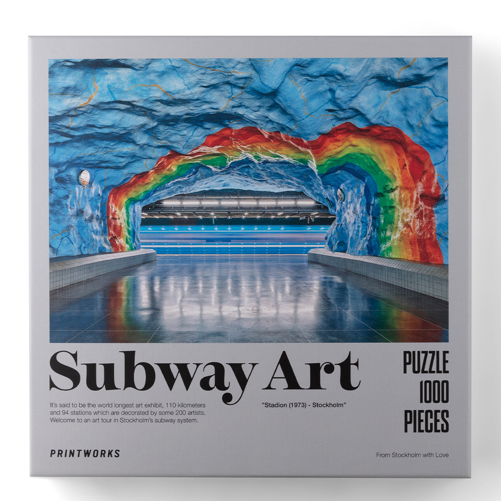 Palapeli Subway Art-Rainbow