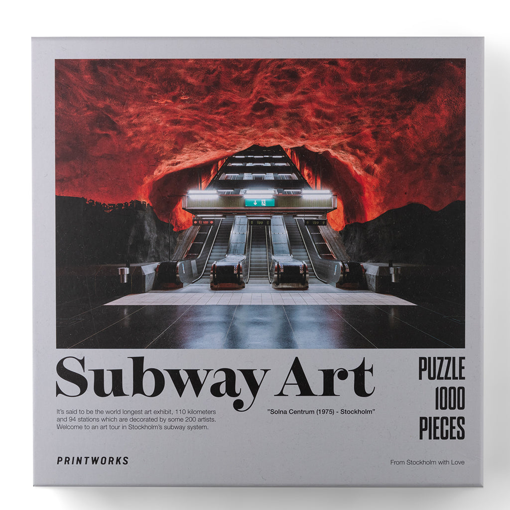 Palapeli Subway Art-Fire