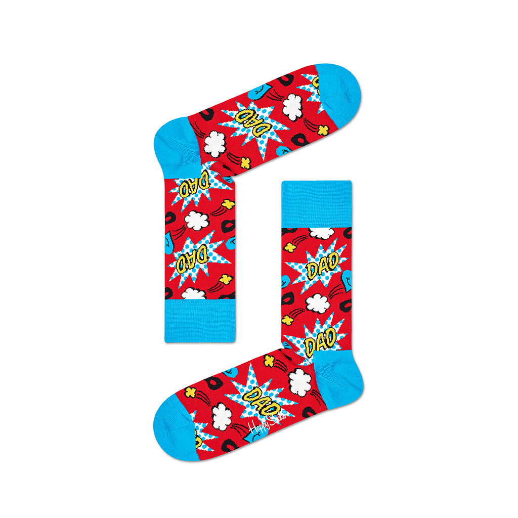 Nilkkasukat - Dad Socks - Happy Socks - Bonmarks.fi