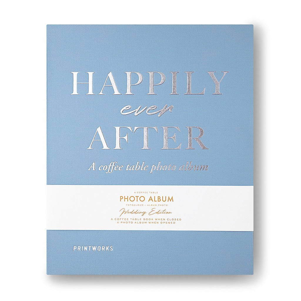 Valokuva-albumi - Happily Ever After - Printworks - Bonmarks.fi