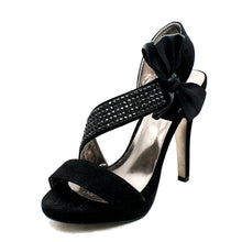 Load image into Gallery viewer, Side bow Open Toe high heel sandals / shoes