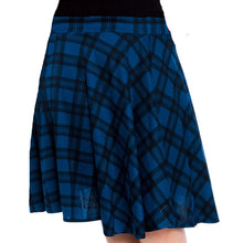 Load image into Gallery viewer, Tartan A line swing skirt - Plus Sizes too