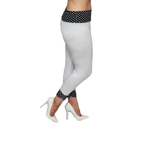 Ladies 3/4 length capri style leggings - plus sizes TOO