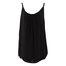 Load image into Gallery viewer, Metallic Strap layered cotton vest top
