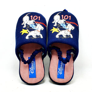 101 dalmation open back slippers - childrens