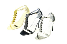 Load image into Gallery viewer, Sparkly Gem High heel Party shoes / sandals