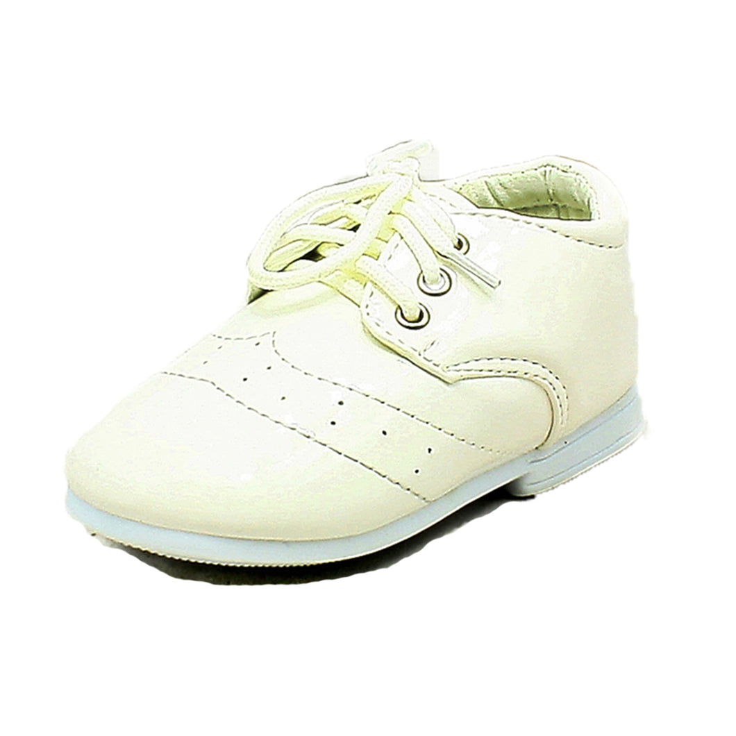 Babies / Little boys White patent page boy / christening Shoes