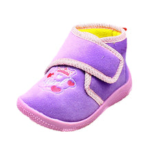 Load image into Gallery viewer, Childrens Slippers boots with princess crown to front