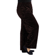 Load image into Gallery viewer, Crushed Velvet Elasticated Waist Trousers - plus sizes too