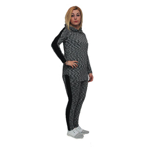 Lightweight tracksuit / lounge suit with hood - plus sizes too
