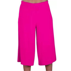 3/4 length wide leg trousers / culottes