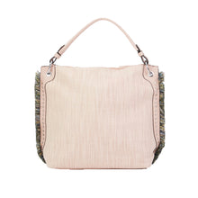 Load image into Gallery viewer, Fringe Edge Textured Handbag