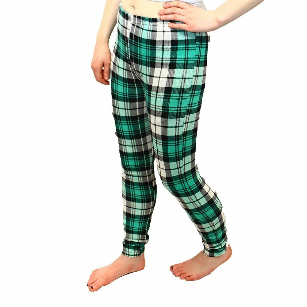 Thick Feel Square checked leggings / skinny Trousers - CLEARANCE