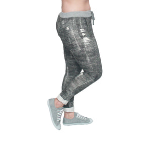 Elastic Waist joggers / lounge pants with side pockets