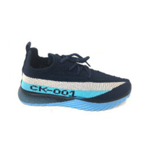 Childrens Latest style fabric laced trainers