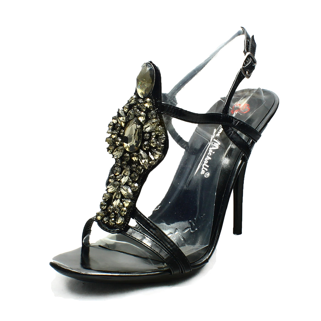 Heavily Beaded high heel party / prom shoes