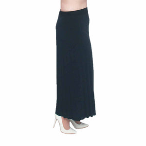 Pleated ankle length palazzo trousers / culottes
