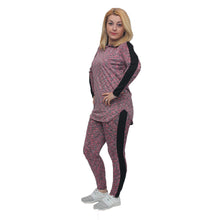 Load image into Gallery viewer, Lightweight tracksuit / lounge suit with hood - plus sizes too