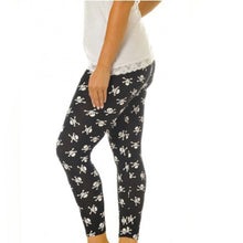 Load image into Gallery viewer, High Waist Soft Stretchy Patterned Leggings Plus sizes too