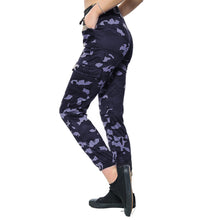 Load image into Gallery viewer, Camo Print Stretchy leggings with zip or pocket feature