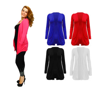 Open front cardi / top with pockets - Plus sizes too