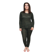 Load image into Gallery viewer, Mottled effect dipped hem tracksuit / lounge suit