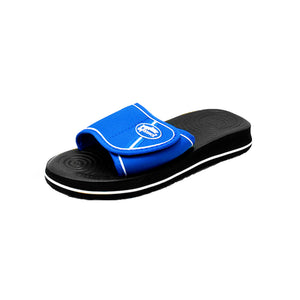 Foam holiday / beach sliders with adjustable straps
