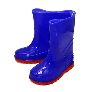Infants Blue / red wellington Boots Boys or Girls