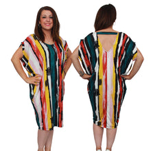 Load image into Gallery viewer, Oversized lounge dress with v back