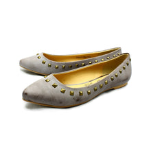 Load image into Gallery viewer, Flat Mottled effect pointed toe shoes / pumps