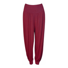 Load image into Gallery viewer, Jersey elasticated waist Plain harem pants - PLUS Sizes TOO