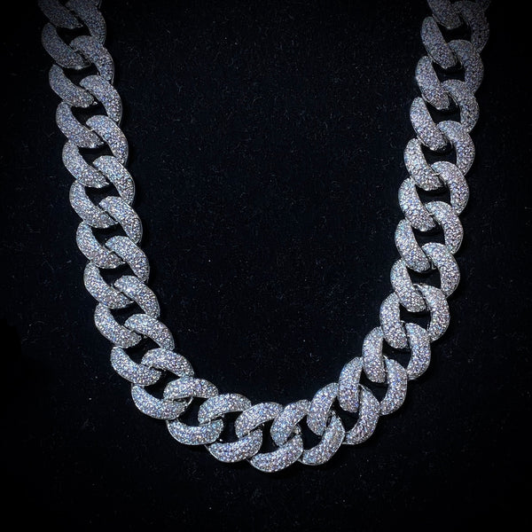 18mm Iced Cuban Chain