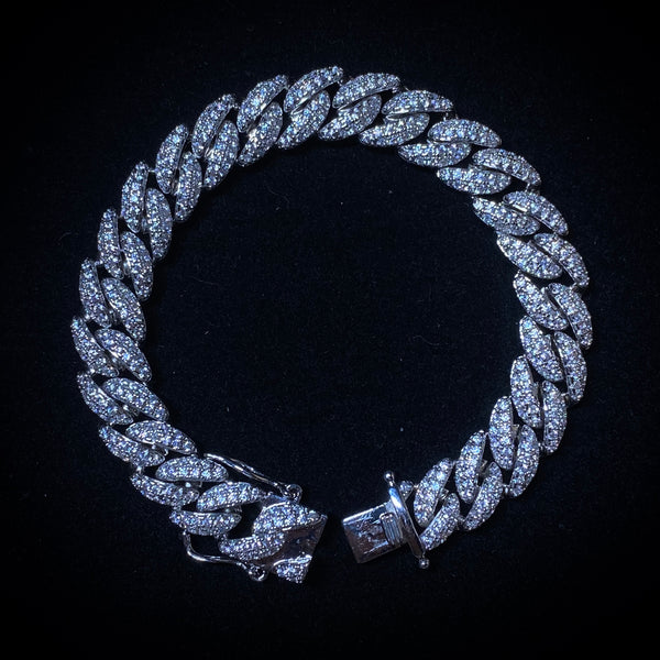 9mm Iced Cuban Bracelet
