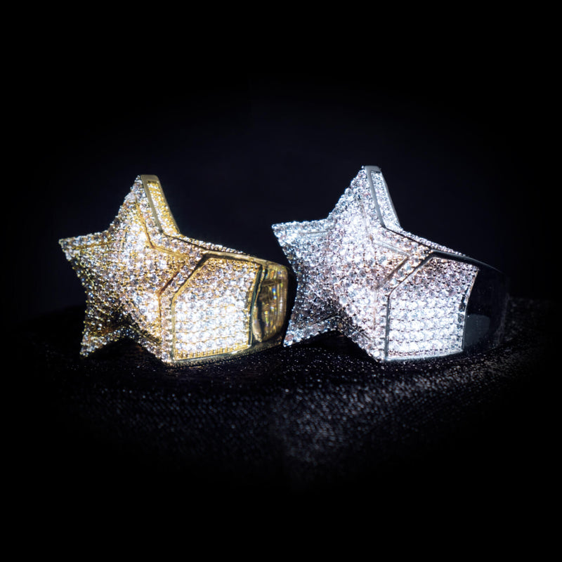 Diamond Star Ring | Ice Mob
