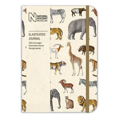 Natural History Museum Lined Journal A6 - Zoo Animals