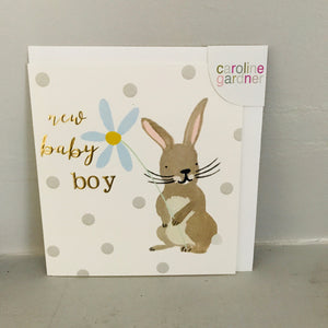 New Baby Card - New baby Boy