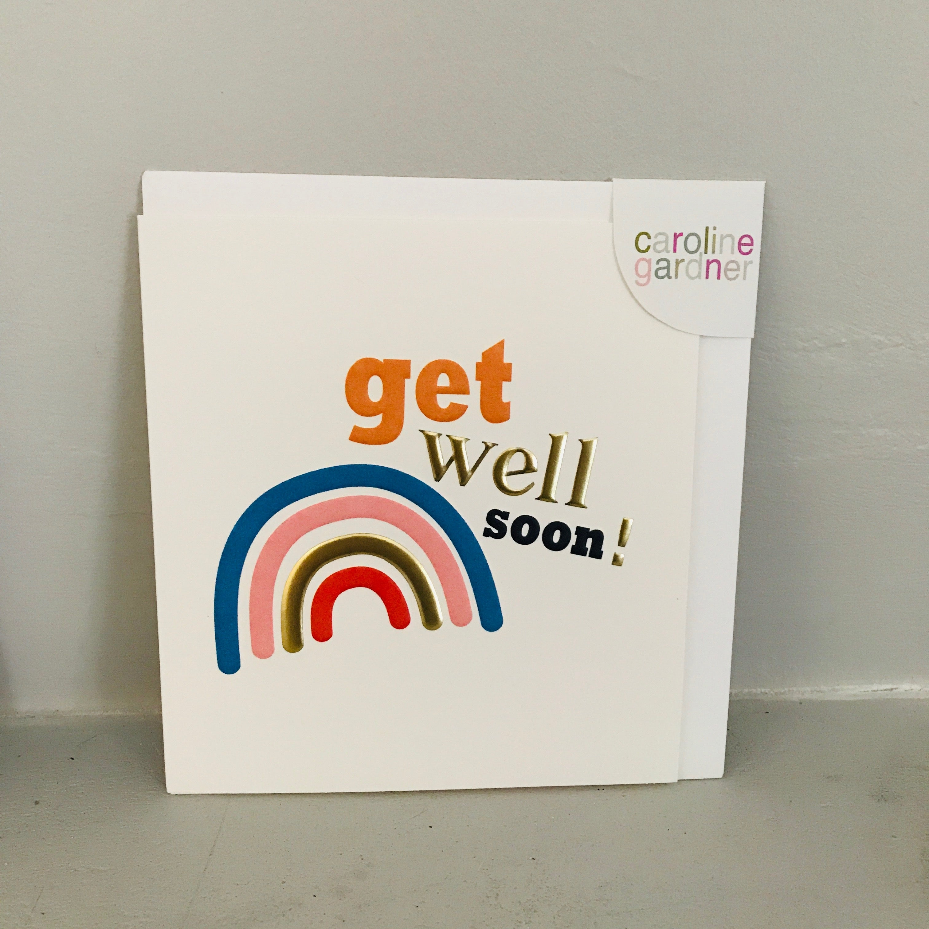 Get Well Card - Rainbow