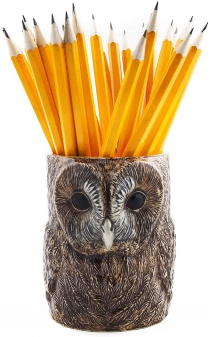 Ceramic Tawny Pen Pot