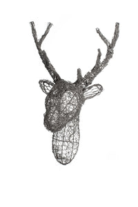 Wire Stags Head