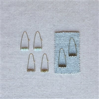 Load image into Gallery viewer, Ava Parabolic Arch Earrings