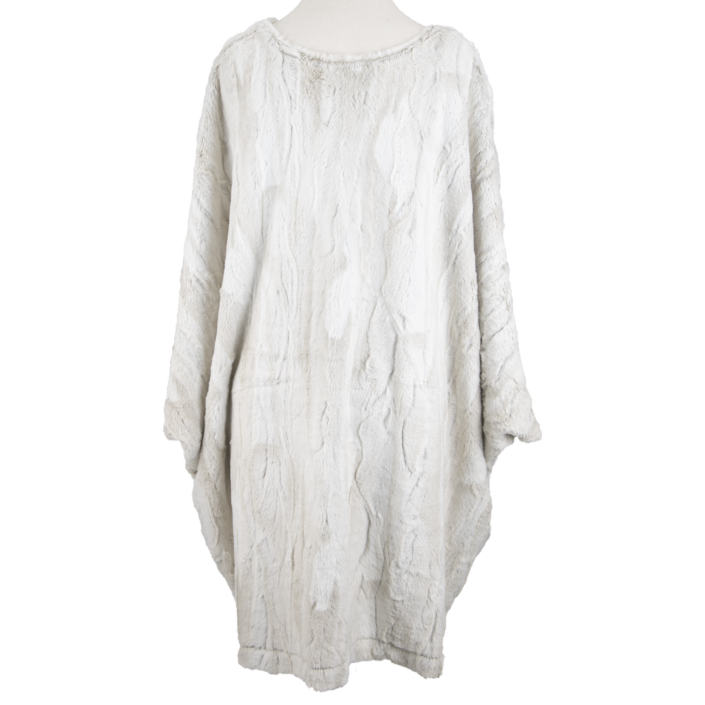 Yana K Poncho Mini Dress V-Neck
