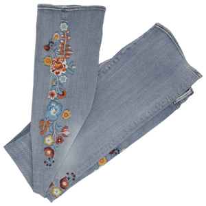 Kelly Jeans Daffodil boot cut with embroidery