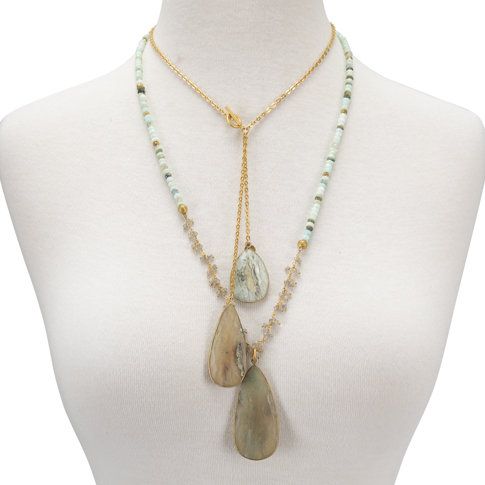 Load image into Gallery viewer, Catherine Page Necklace-ELIZA
