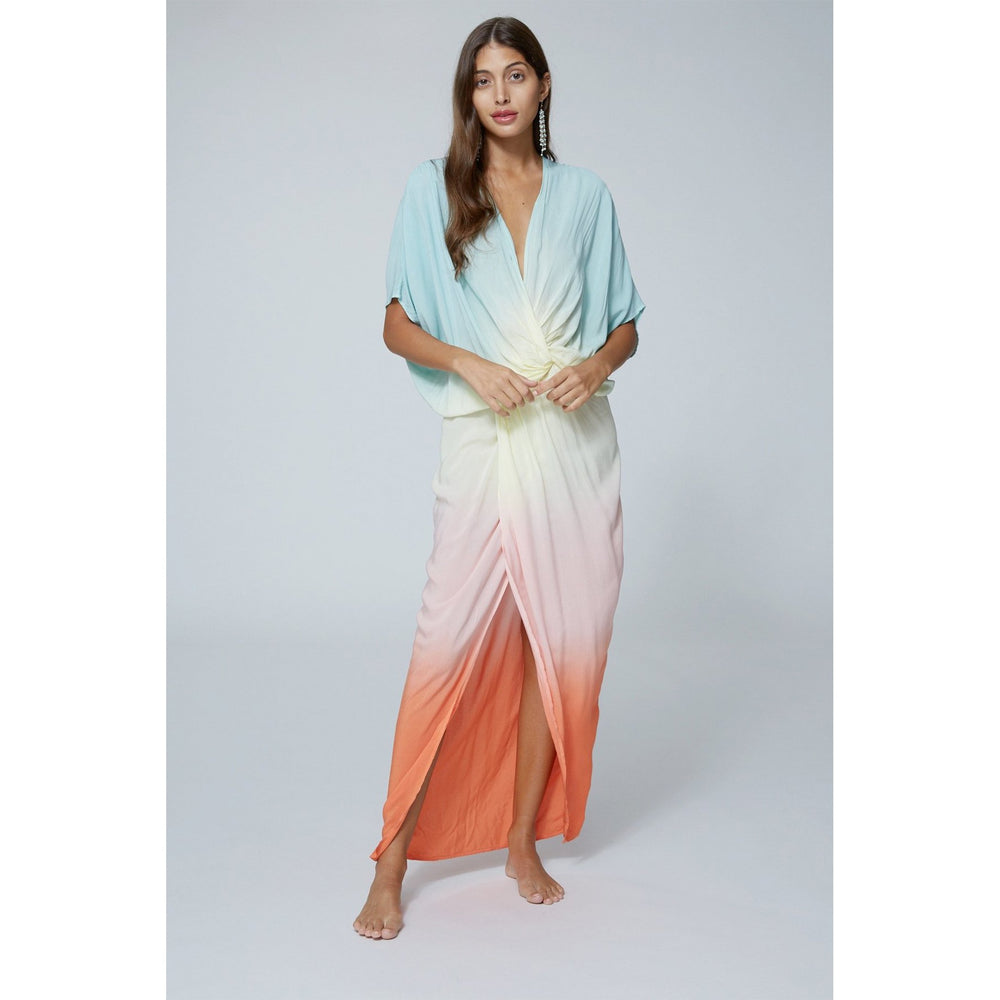 Load image into Gallery viewer, Siren Tropic Ombre Maxi by YFB
