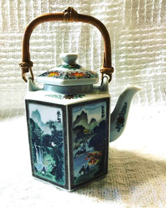 Small Vintage Japanese Teapot with 2 Tea Cups [Local Pick Up Only]