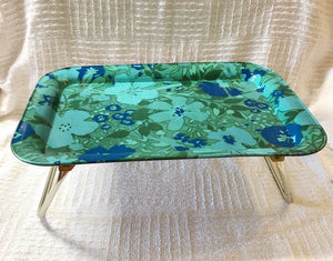 Vintage Flower Power Bed Tray