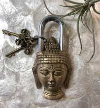Load image into Gallery viewer, Buddha Padlock