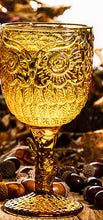 Load image into Gallery viewer, Amber Owl Goblet (Local Pick Up Only, Please)